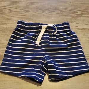$2 w/ bundle! Baby Boy Blue & White Striped Shorts